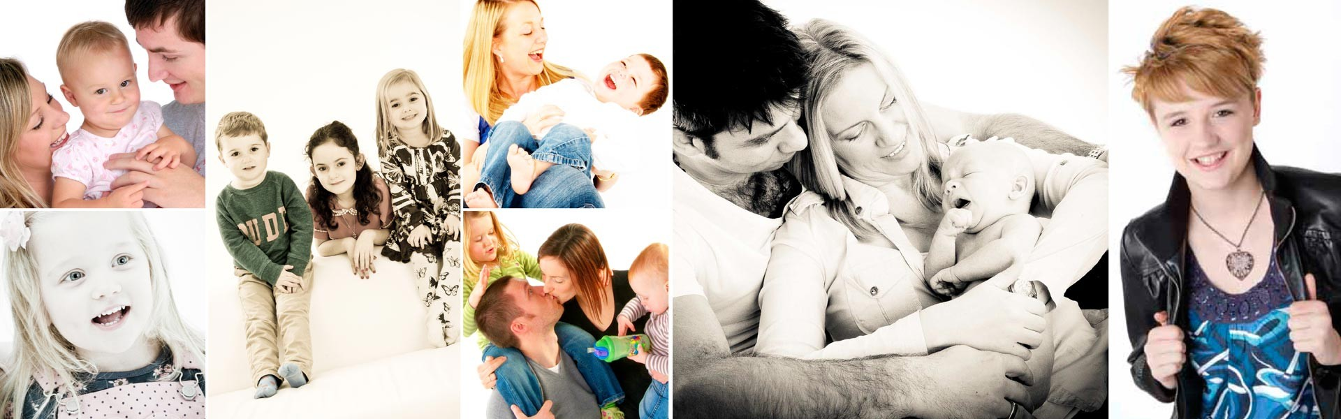 Studio Family Photoshoot Bromsgrove