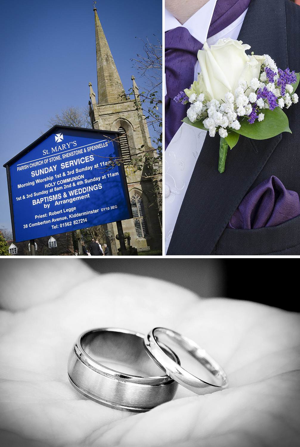 St Mary's Church, Stone, Wedding Photography