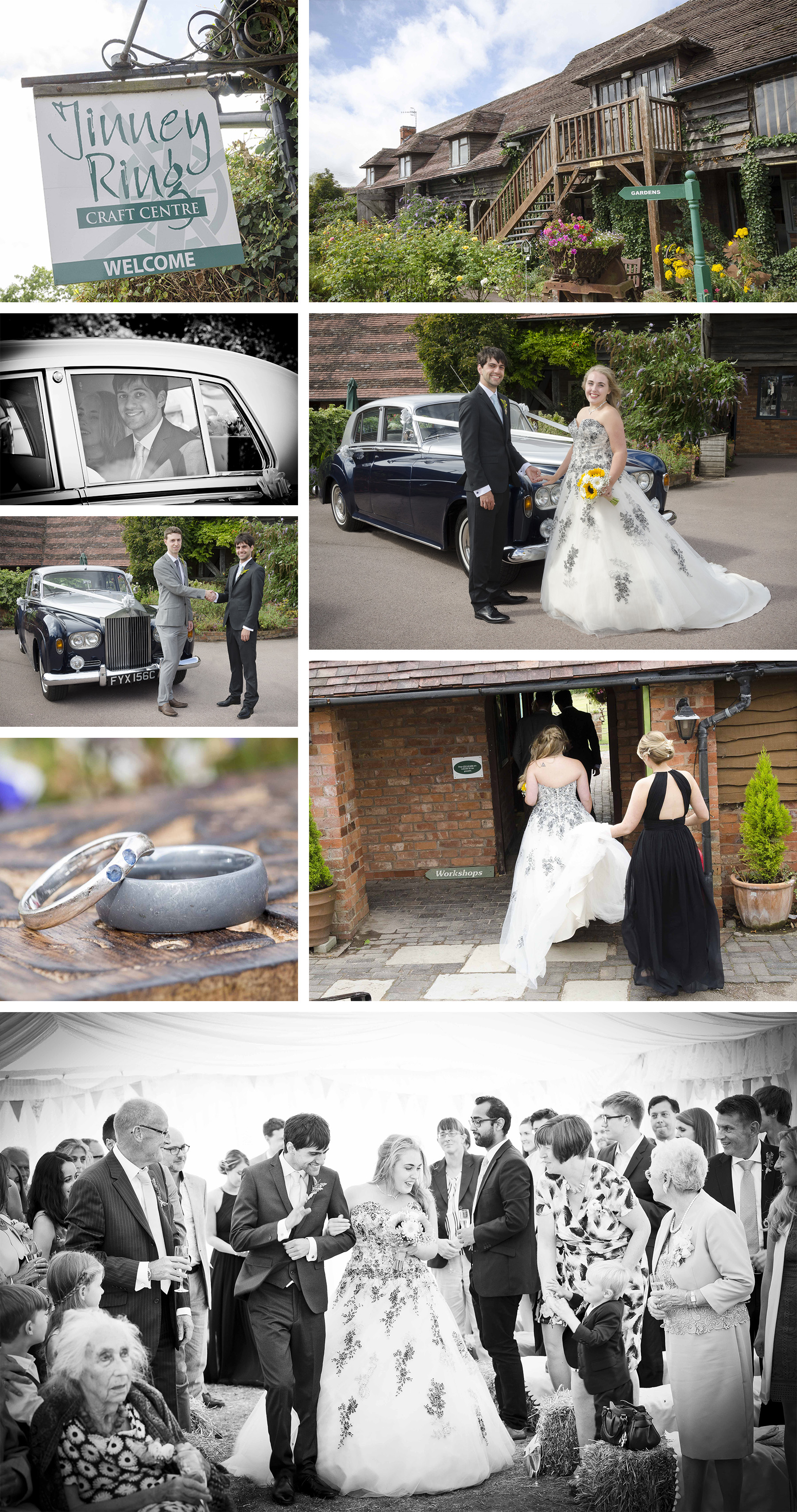 Wedding Photography at the Jinney Ring Centre