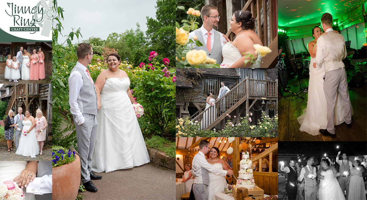 Wedding Photographer at the Jinney Ring Centre