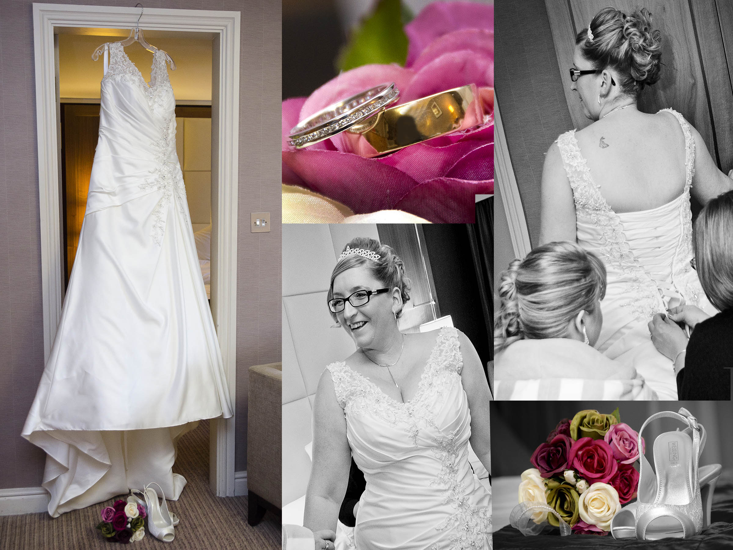 Bridal preparations, Wedding Photography Bromsgrove