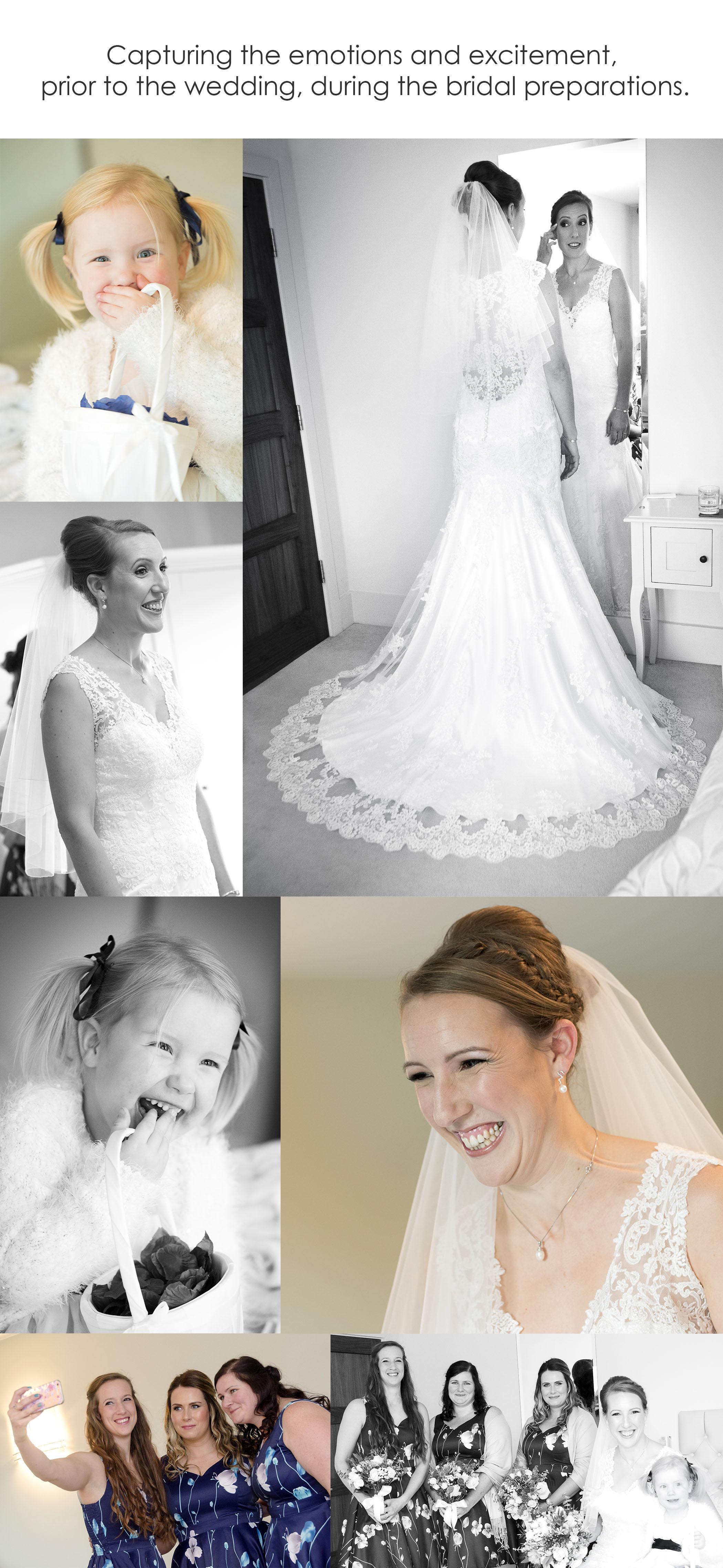 Bridal preparations, Female Photographer Worcestershire, Professional photographer
