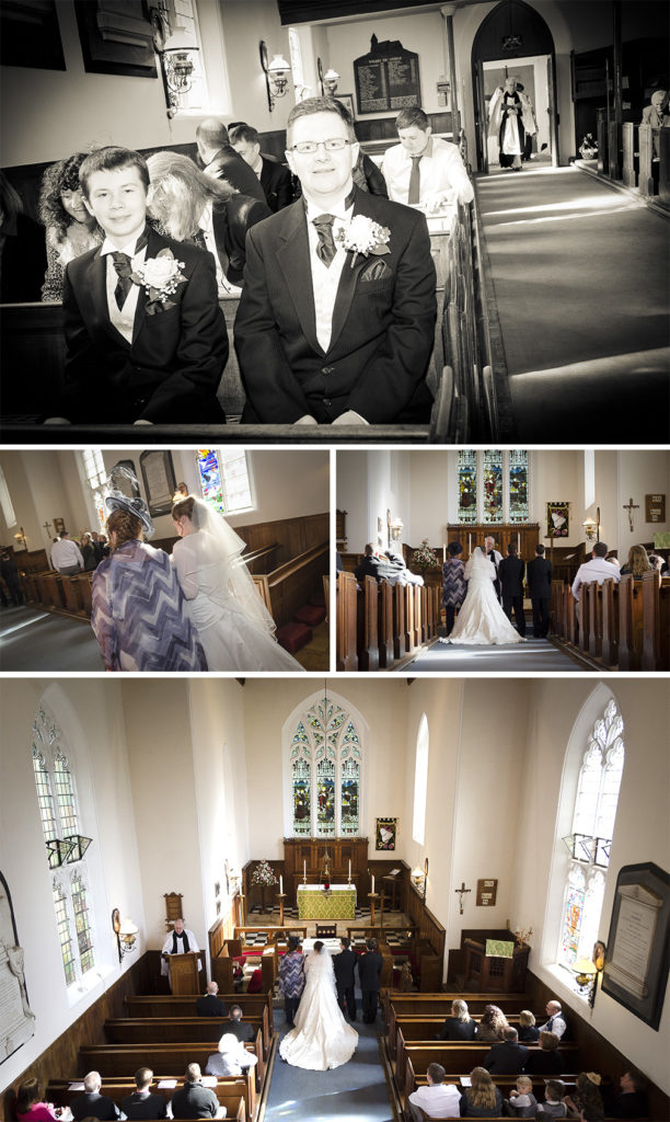 Wedding Photography at St Mary's Church, Stone, Kidderminster