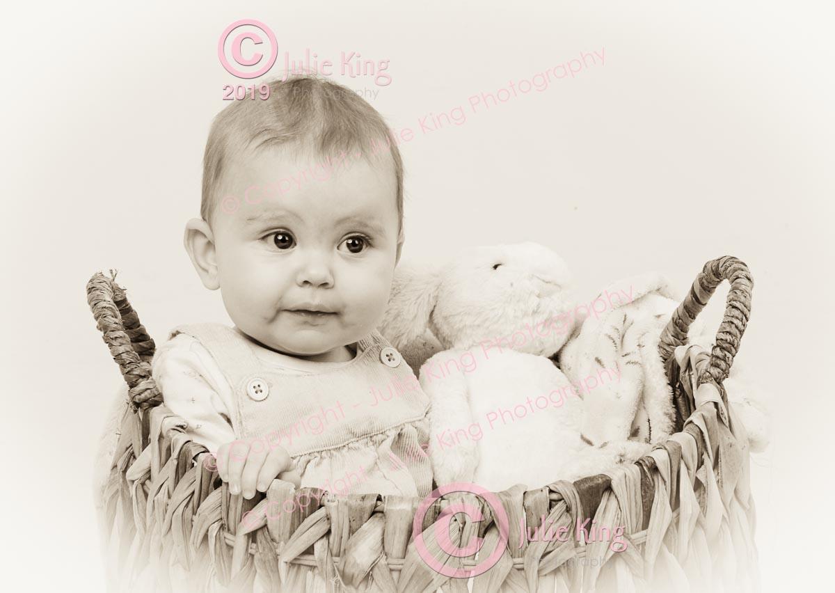 Female baby photographer