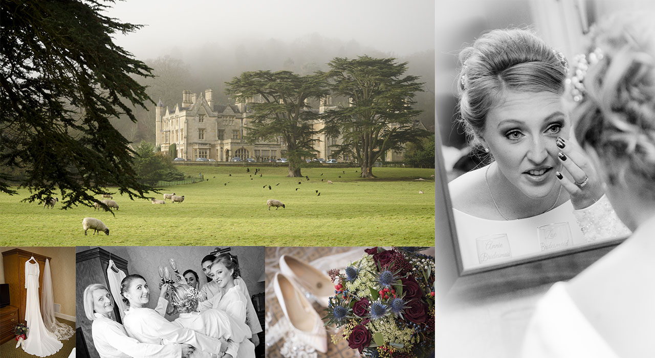 best wedding photographer at Dumbleton Hall