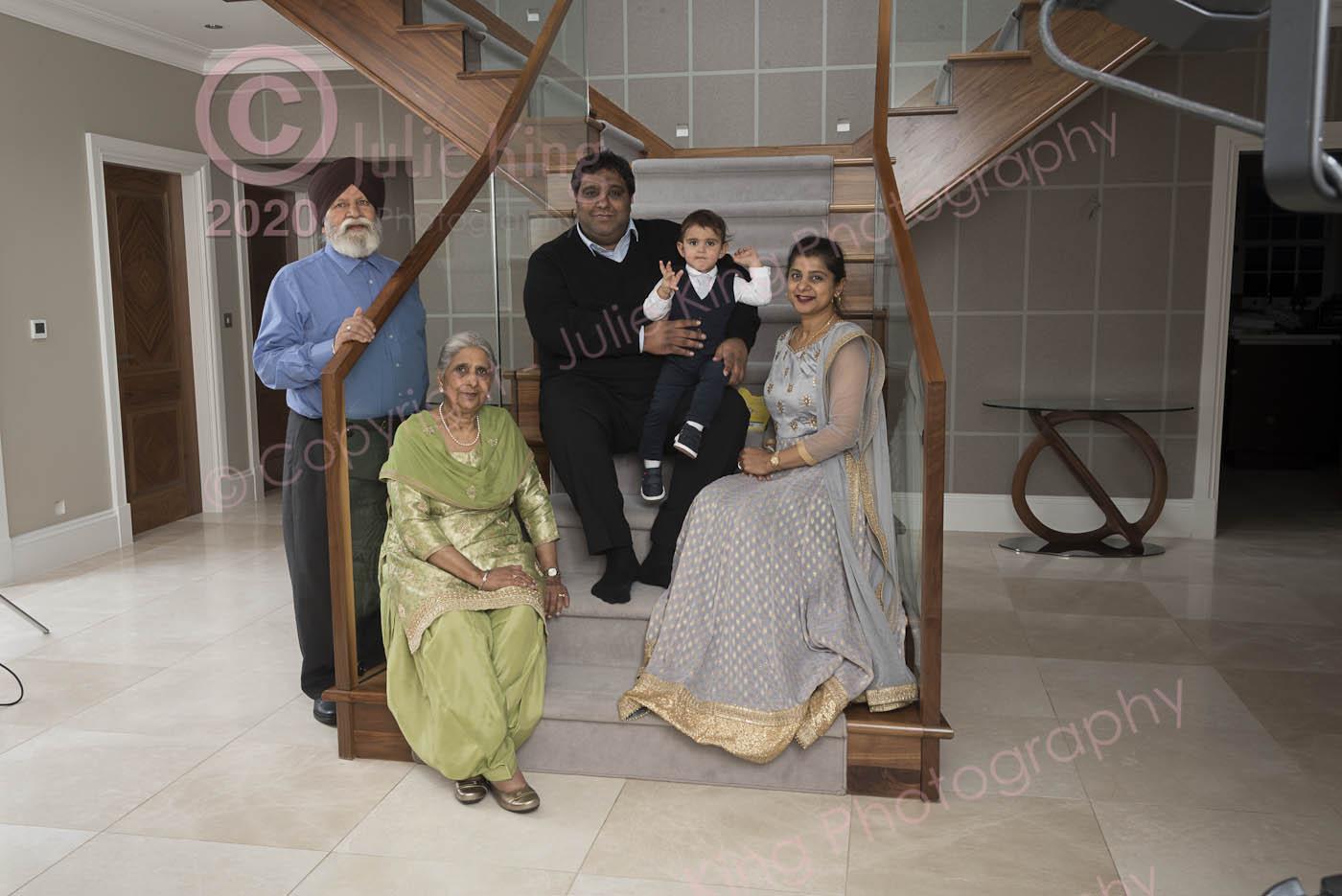 Luxury Family Portraits Worcestershire