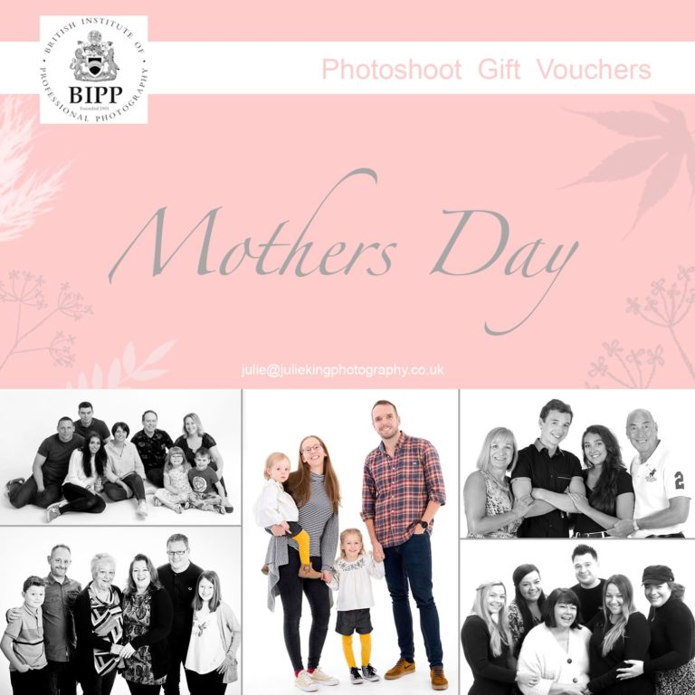 Mothers day family portraits