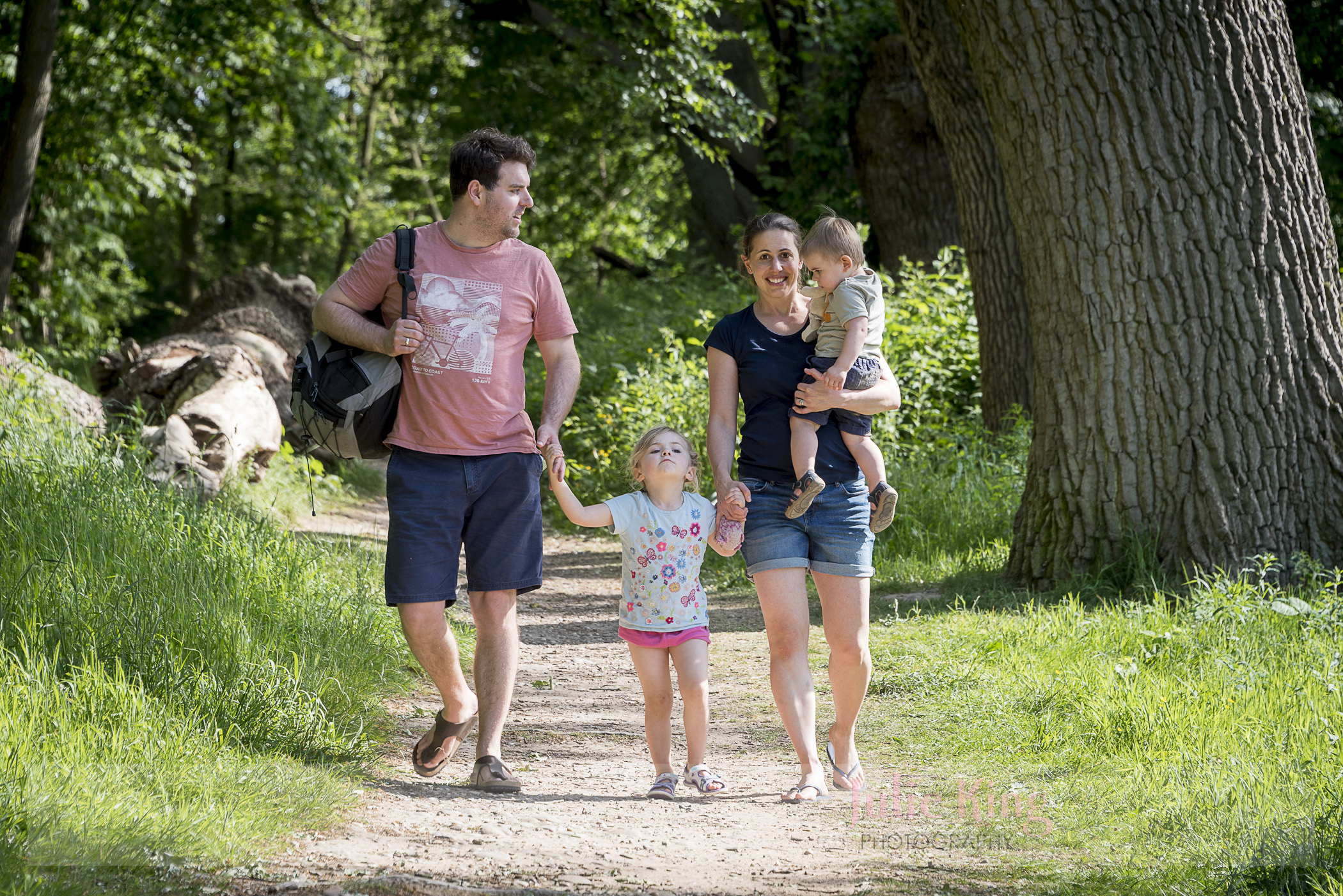 Woodland family portraits