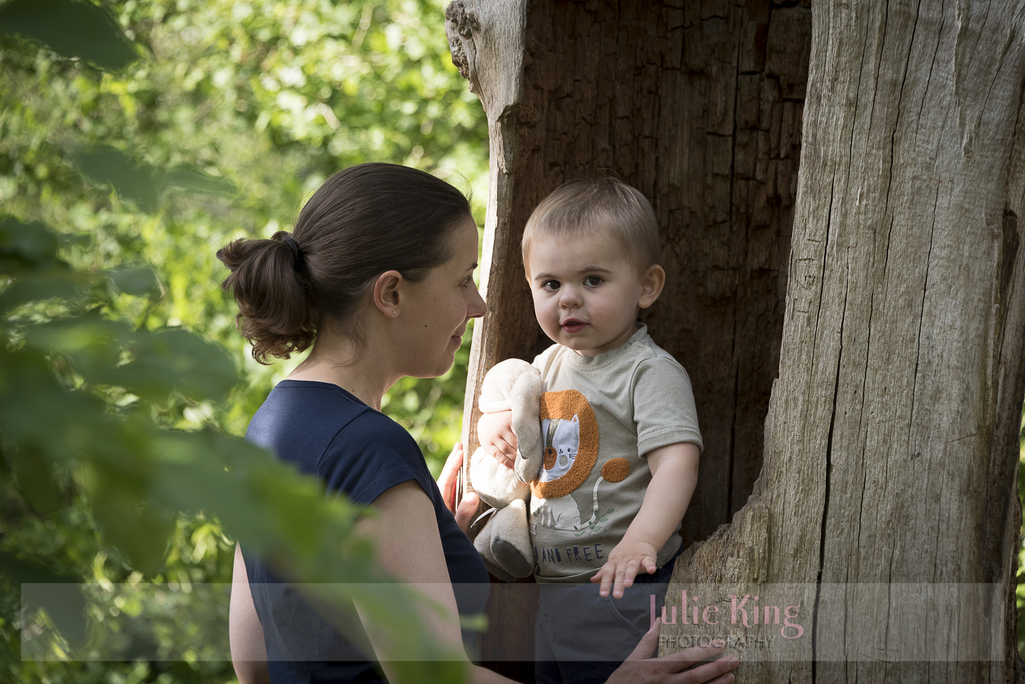 Portraits in Hanbury woods