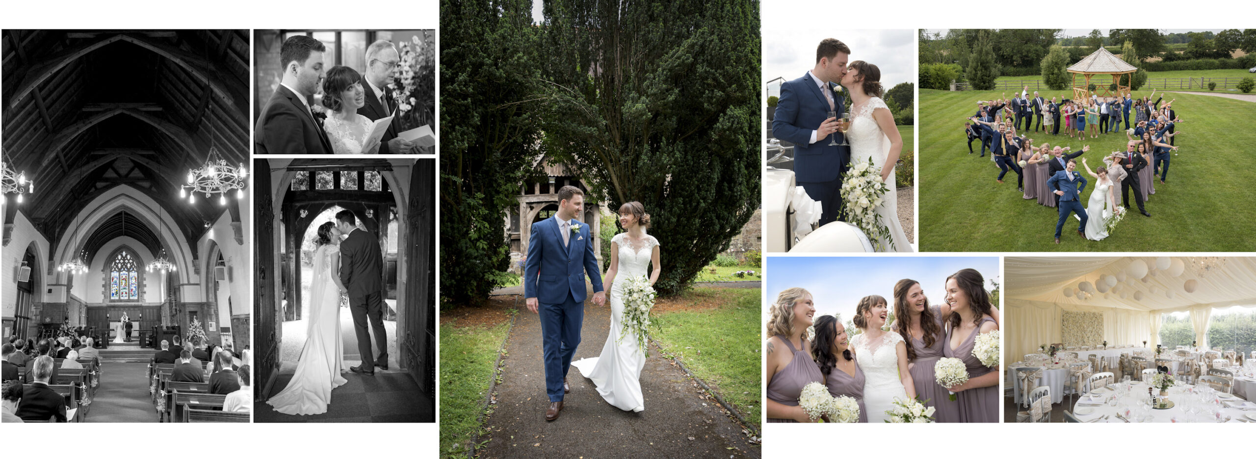 Wedding Photography Manor Hill House, Worcestershire