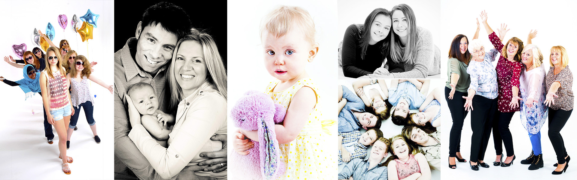 Studio Family Portraits Worcestershire